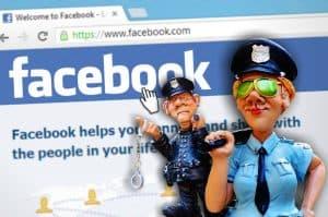 פייסבוק ושוטרים