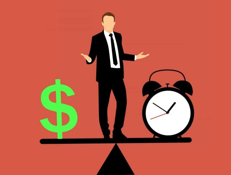 זמן וסימון של כסף