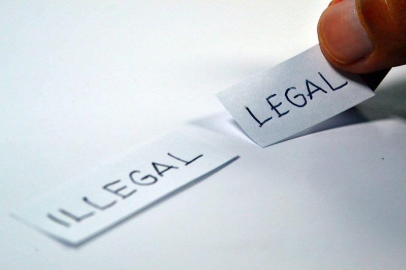 פתק חוקי ופתק לא חוקי
