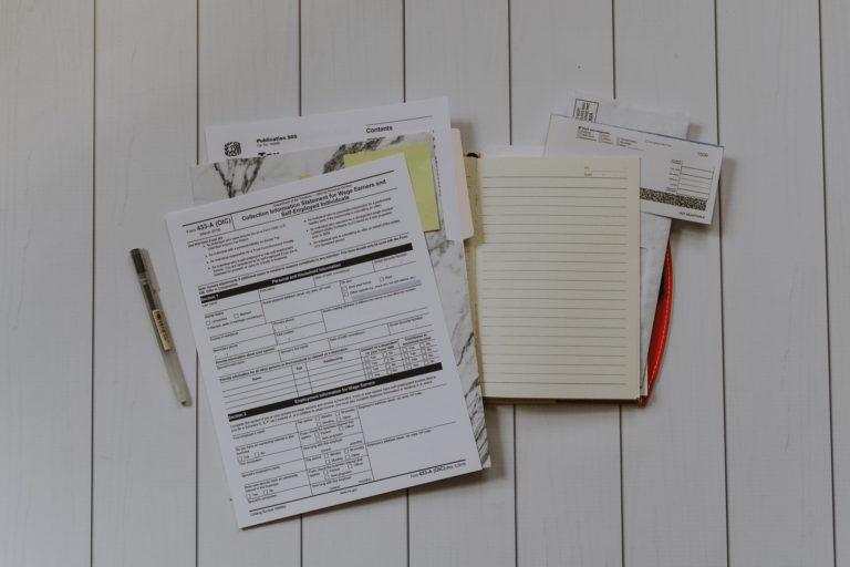 מסמכים להגשת בקשה להחזר מס - אילוסטרציה